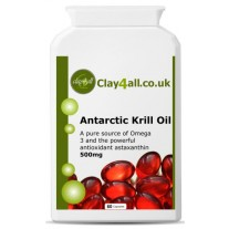 Antarctic Krill Oil – Pure source of omega 3 and astaxanthin